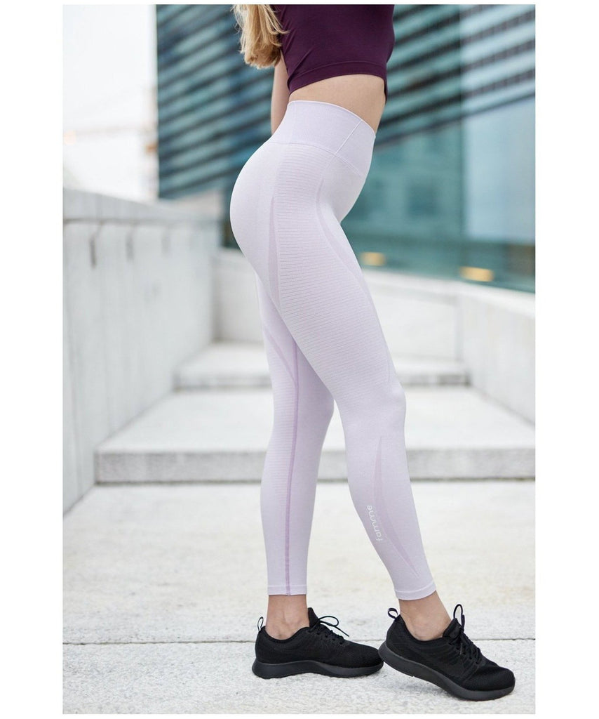 1913a15795f6e2 Famme Elevate Vortex High Waisted Leggings Orchid Bloom-Famme-Gym Wear