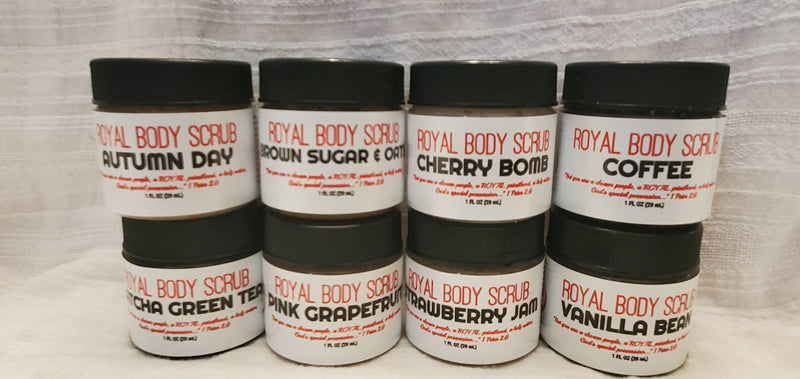 ROYAL BODY SCRUB - SAMPLE SET