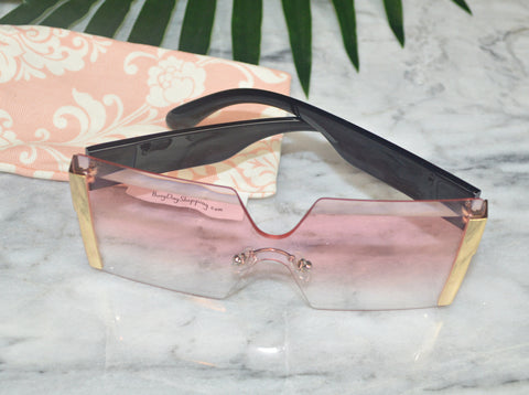 Switz Sunglasses - Pink - BusyDayShopping