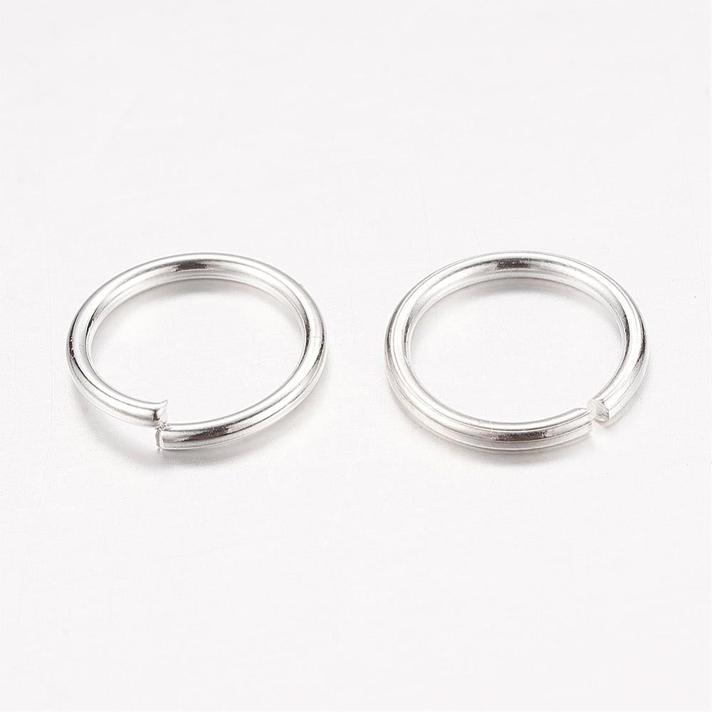 Jump Rings Silver