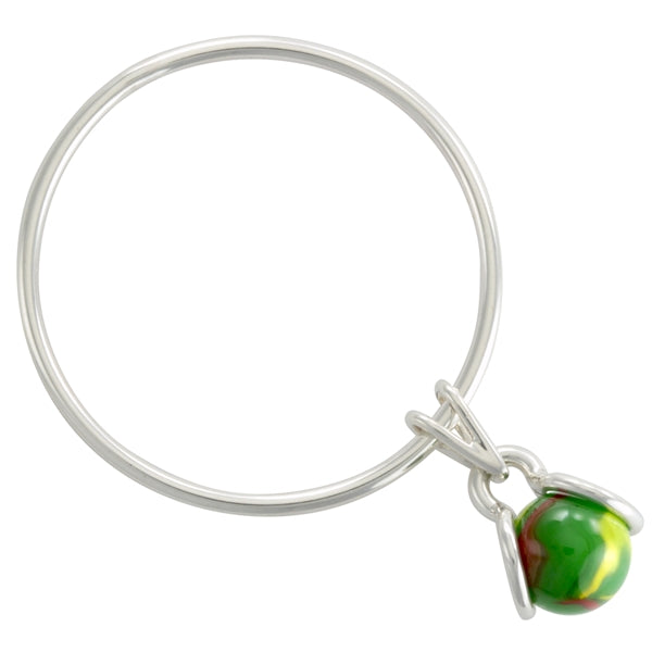 MOD BANGLE BRACELET GAYM  - SOLID STERLING SILVER