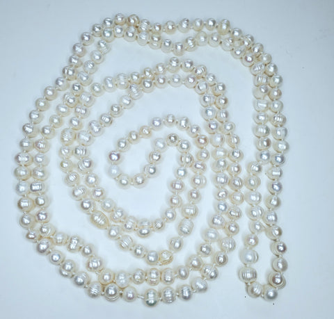 Freshwater Pearl Necklace 80 inches