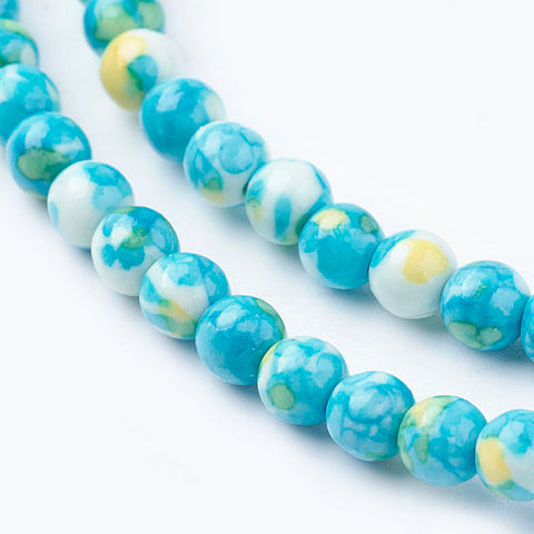 Synthetic Turquoise Gemstone Bead Strands