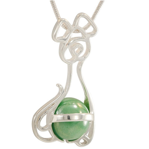 GAYM- 14MM FANCY ANIMARBLES PENDANT - SOLID STERLING SILVER