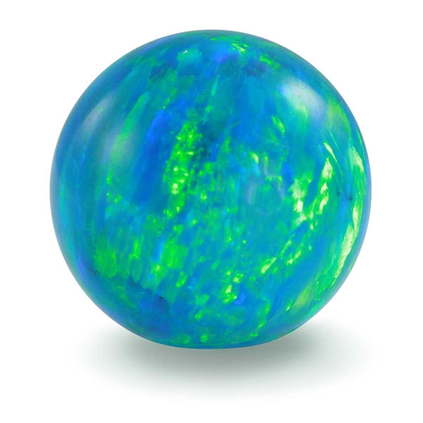 GAYM - FAUX OPAL - BLUE GREEN