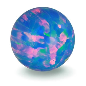 GAYM - FAUX OPAL - CORNFLOWER BLUE
