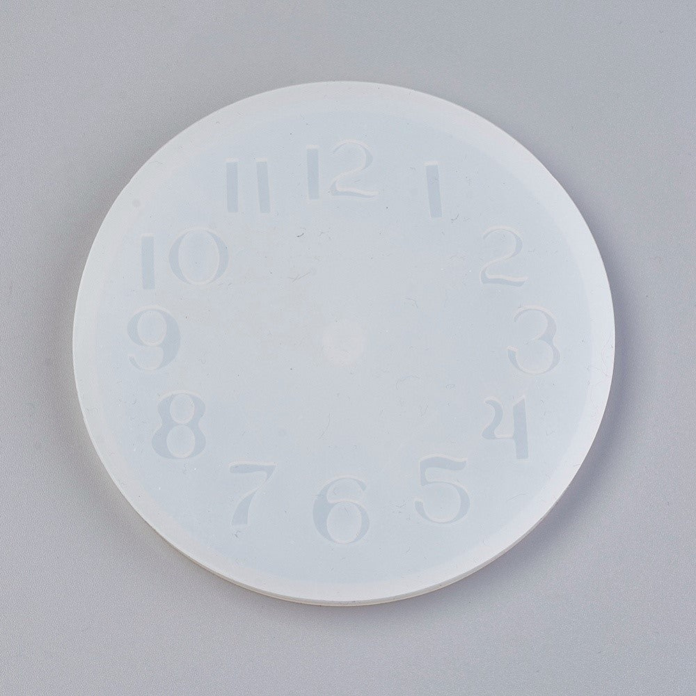 Silicone Mold Clock