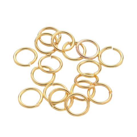 Jump Rings - Gold