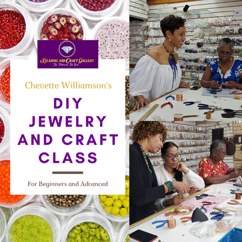 DIY Jewelry and Craft Class