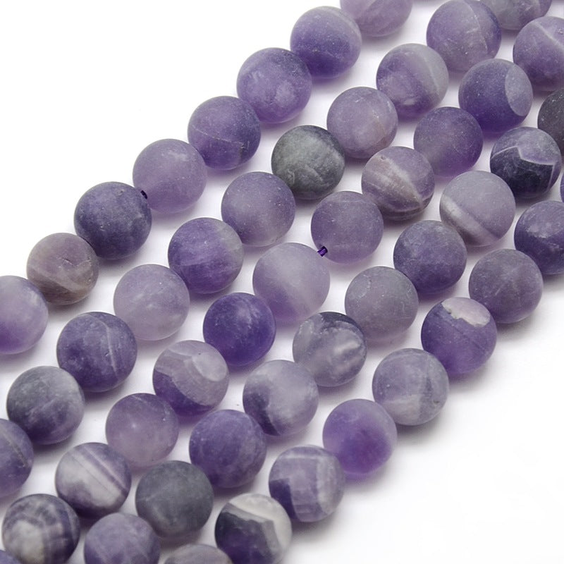 Amethyst - Natural Frosted