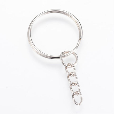 Split Key Ring Chain