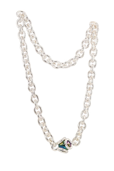 GAYM- UNITY LINK NECKLACE - SILVER PLATED