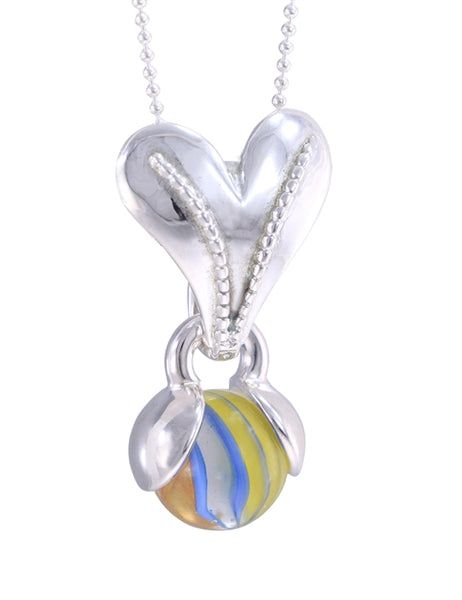 GAYM- APHRODITE PENDANT - SILVER PLATED