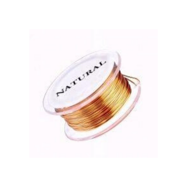 Half Round Wire - 18g - 7 yards