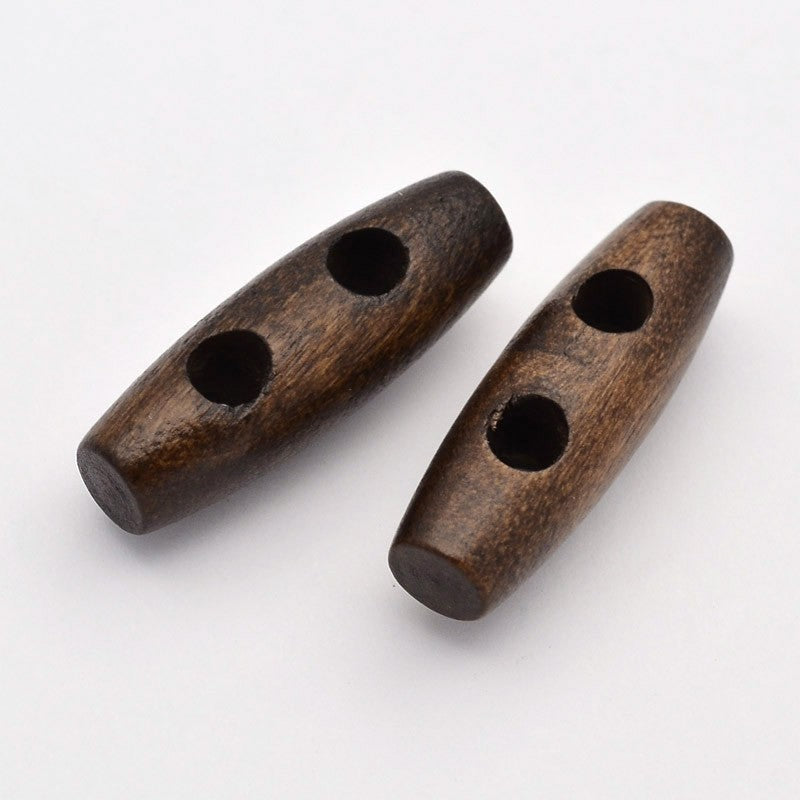 Wooden Toggle Button