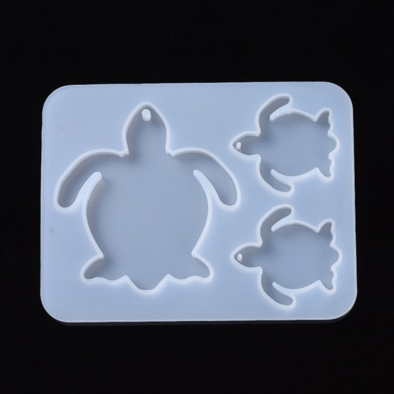 Turtle Pendant Silicone Molds