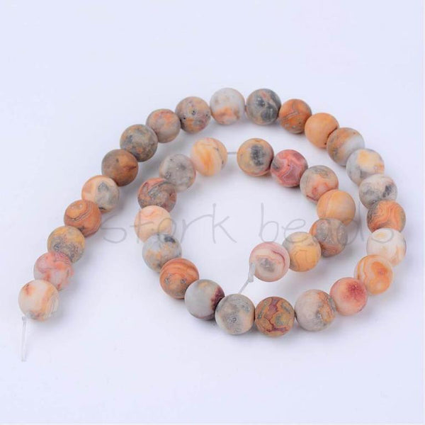 Crazy Agate Bead Strands