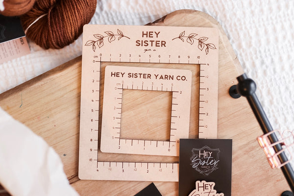 Wooden Gauge Ruler Set