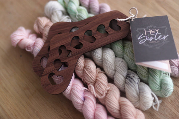 Baby Sock Kits with Walnut Blockers