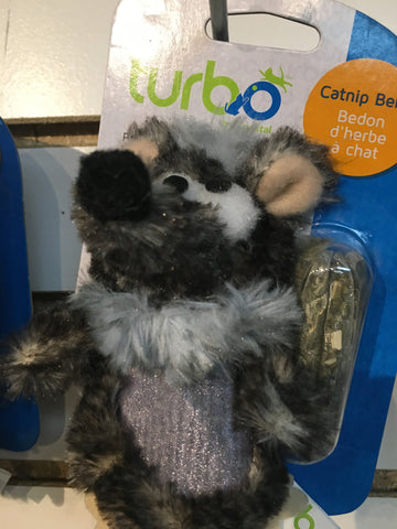 Turbo Cat Toy Catnip Belly Mouse