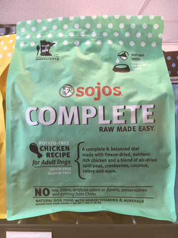 Sojo's Dog Complete Adult Chicken 7.0 Lbs.