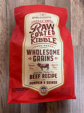 Stella & Chewy's Dog Raw-Coated Beef & Wholesome Grains (3.5 Lbs)