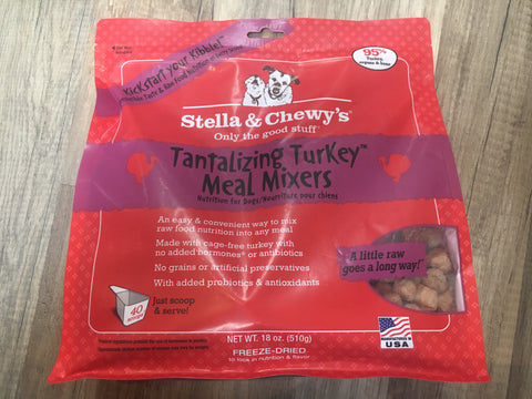 Stella & Chewy's Dog FD Meal Mixers Turkey 18oz