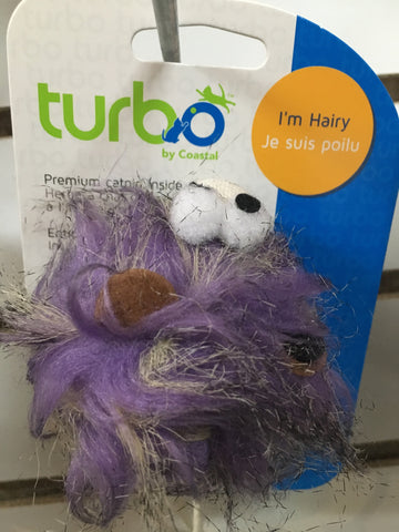 Turbo Cat Toy Hairy Monster