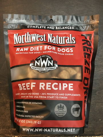 Northwest Naturals FD Beef Nuggets 12oz.