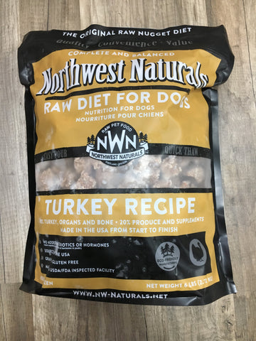 Northwest Naturals Frozen Turkey Nuggets (6 Lbs)