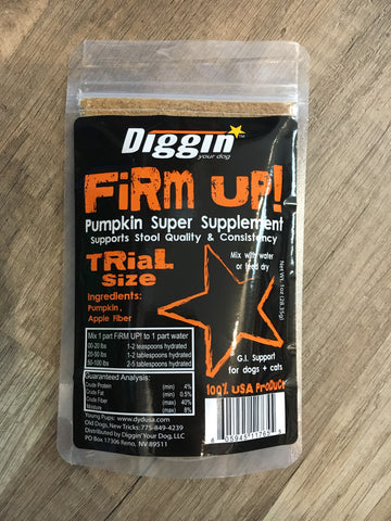 Digging Your Dog Firm-Up Dried Pumpkin 1oz