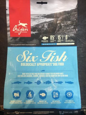 Orijen Dog Six Fish 12 oz