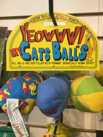 Ducky World Yeowww My Cats Balls 3pk