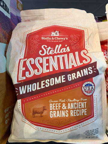 Stella & Chewy's Dog Beef & Ancient Grains 3 Lbs.
