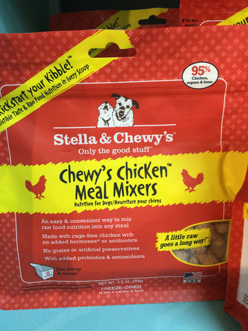Stella & Chewy's Dog FD Meal Mixers Chicken 8.0oz