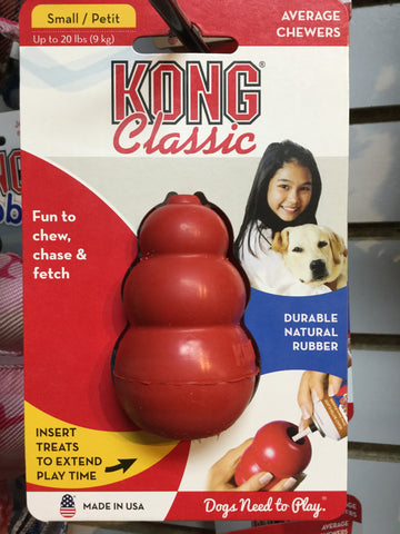 Kong Classic Small Kong Toy