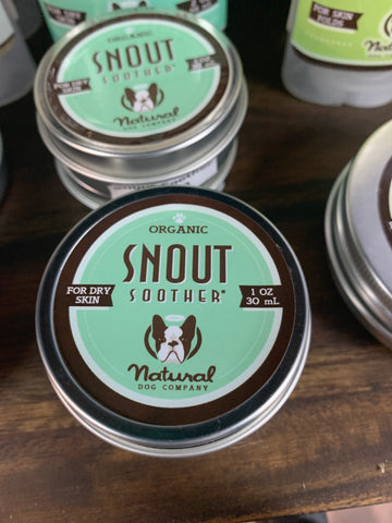 Natural Dog Company Snout soother tin 1oz