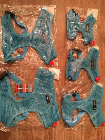 Puppia Soft Harness sky blue small