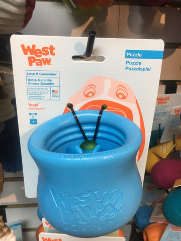 West Paw Toppl (blue)