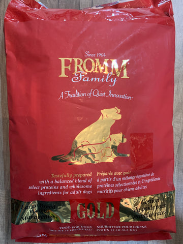 Fromm Dog Gold Weight Management Large Breed 15 Lbs.