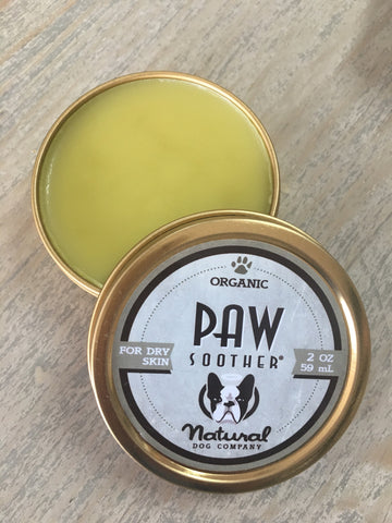 Natural Dog Company Paw Soother Tin