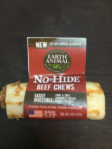 Earth Animal No-Hide Beef Chew 4""