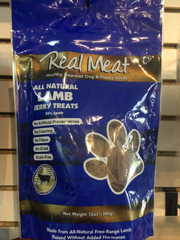 The Real Meat Company Lamb Treat Dog 12z