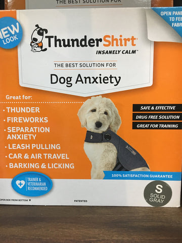 Thundershirt Dog Heather Grey Small