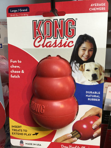 Kong Classic Large Kong Toy