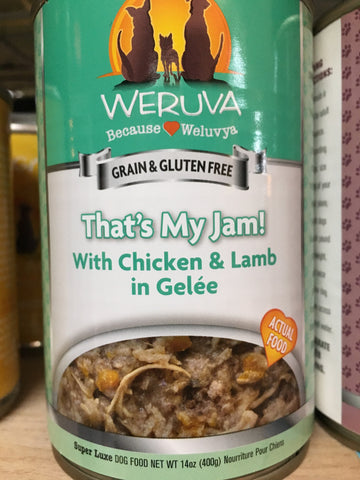 Weruva Dog GF That's My Jam! can 14oz