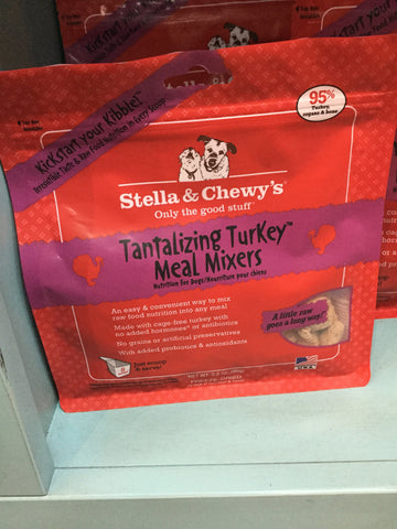 Stella & Chewy's Dog FD Meal Mixers Turkey 3.5oz