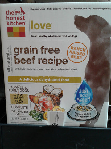 The Honest Kitchen Love Beef GF 2lb