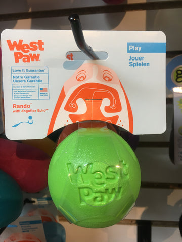 West Paw Rando Ball (green)