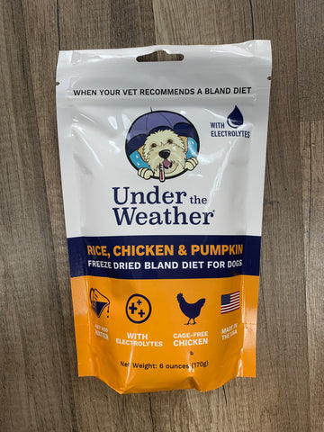 Under The Weather Pet (Chicken, Rice & Pumpkin) 6oz